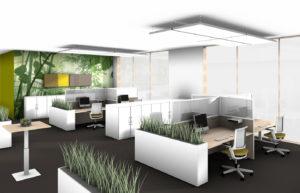 Uhlmanns Büro Komplett Beispiel Großraumbüro