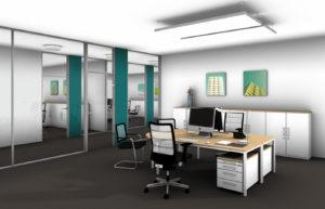 Uhlmanns Büro Komplett Beispiel Kleinraumbüro